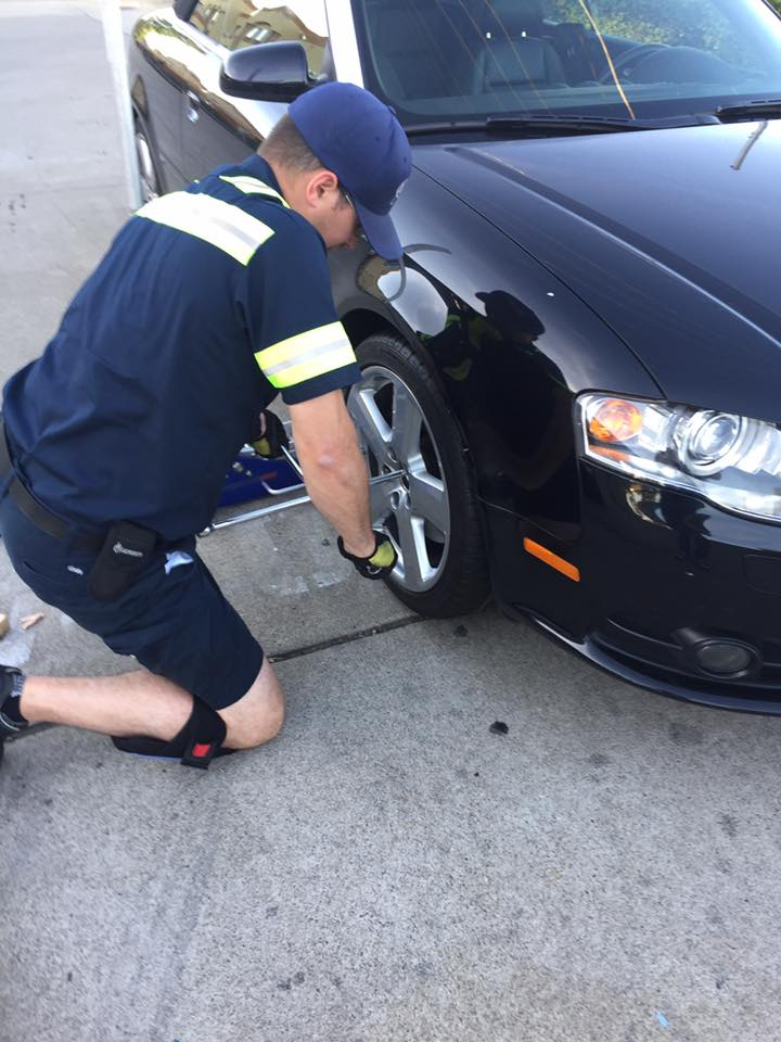 flat tire replacement in Herndon VA
